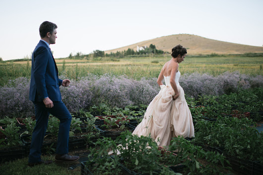 Katie + Kyle's Farm Wedding in Boulder, Colorado - Yellow Feather Photography