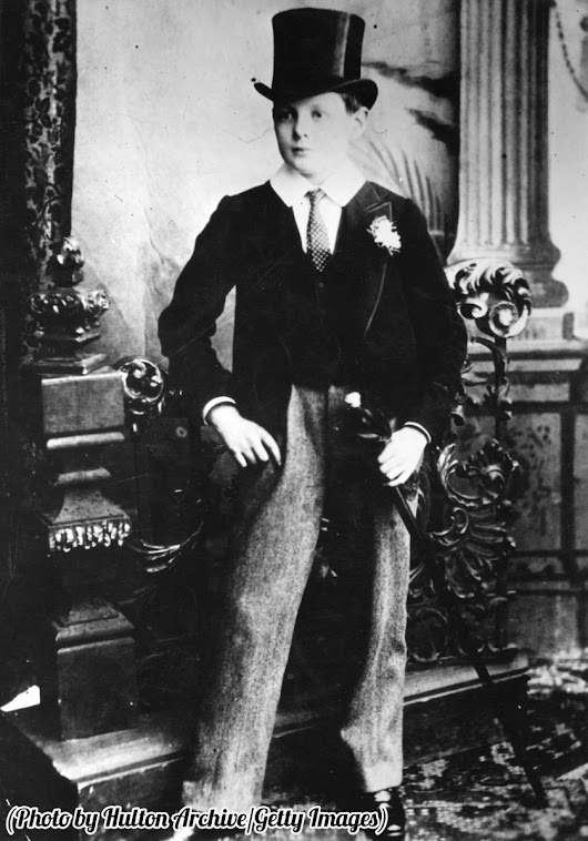 "History In Pictures on Twitter: ""Winston Churchill as a Harrow schoolboy, 1889. """