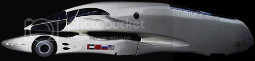 Caminhão futurista Luigi Colani