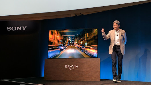 Sony just announced a jaw-dropping OLED Bravia 4K TV with Dolby Vision HDR