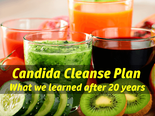 Candida Cleanse Detox Plan - What We Learned after 20 Years