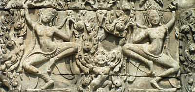 Bas reliefs at Angkor Wat