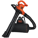 Black & Decker BEBL7000 | 3-in-1 VACPACK 12 Amp Leaf Blower, Vacuum and Mulcher | CPO Outlets