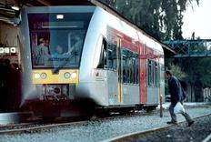 Στη φωτογραφία αρχείου παρουσιάζεται ο τύπος του τρένου που εκτροχιάστηκε στον Αχλαδόκαμπο.