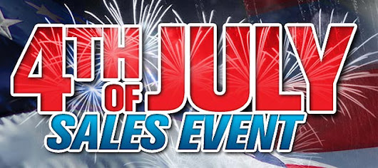 4th Of July Savings Event On Our Most Popular Pool And Hot Tub Products 
