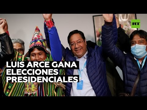Los resultados definitivos dan la victoria a Luis Arce con 55,1 % de los...
