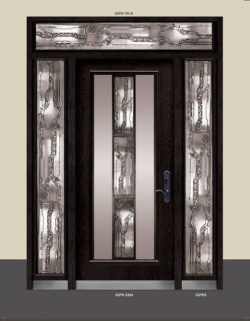 Wrought Iron Art Doors-Stained Glass Doors-Stainless Steel ...