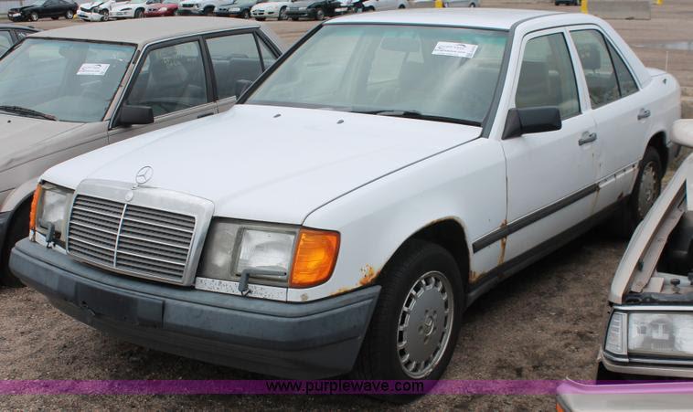 1989 Mercedes Benz 300E | no-reserve auction on Monday ...