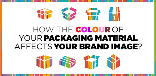How The Colour of Your Packaging Material Affects Your Brand Image?