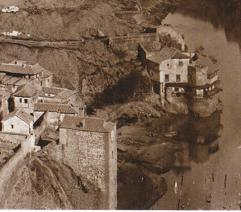 Torre del Hierro de Toledo en 1872. Foto Jean Laurent (detalle). Archivo Ruiz Vernacci