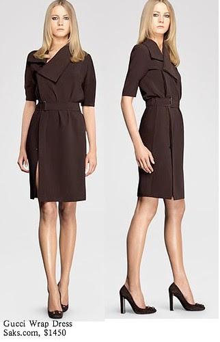Saks.com - Gucci - Wrap Dress