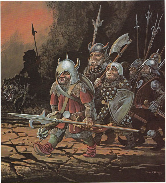 Down In The Dungeon - Don Greer, Rob Stern (Squadron-Signal_1981)-Goblins