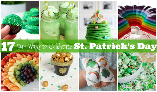 17 St. Patrick's Day Activities {Crafts, Games, Recipes, & More} - R We There Yet Mom?