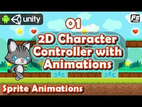Tech Tutorials: Unity 2D Player Character Controller