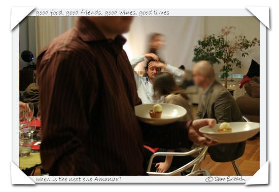 Samanda Dinner One by Sam Breach and Amanda Berne photo series copyright sam breach http://becksposhnosh.blogspot.com/