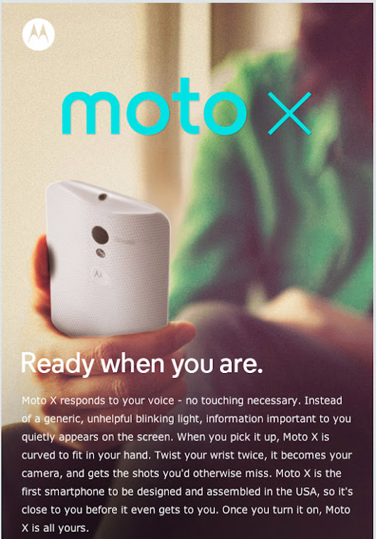 The New Moto X gives us a Glimpse into the future of Mobile and Predictive Computing