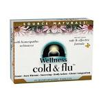 Source Naturals Wellness Cold Flu 48 Tablets