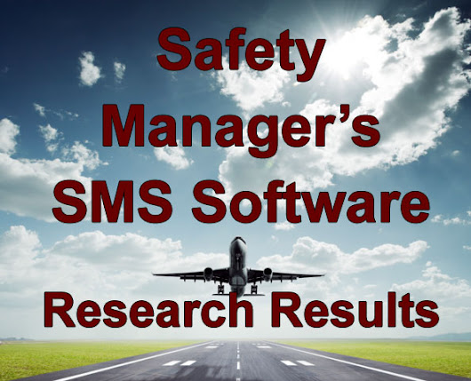 Safety Manager's Reseach Results on Aviation Risk Management Software