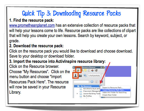 Quick Tip 3: Downloading Resource Packs