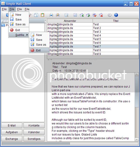 PgsLookAndFeel Giao diện trong Java: 10+ Free Look and Feel