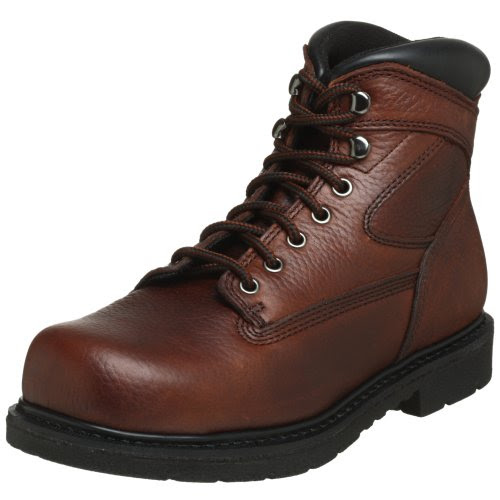 WORX by Red Wing Shoes Men's 5525 Oblique Toe Steel Toe 6
