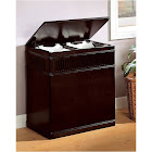 Coaster 900159 Cappuccino Laundry Hamper