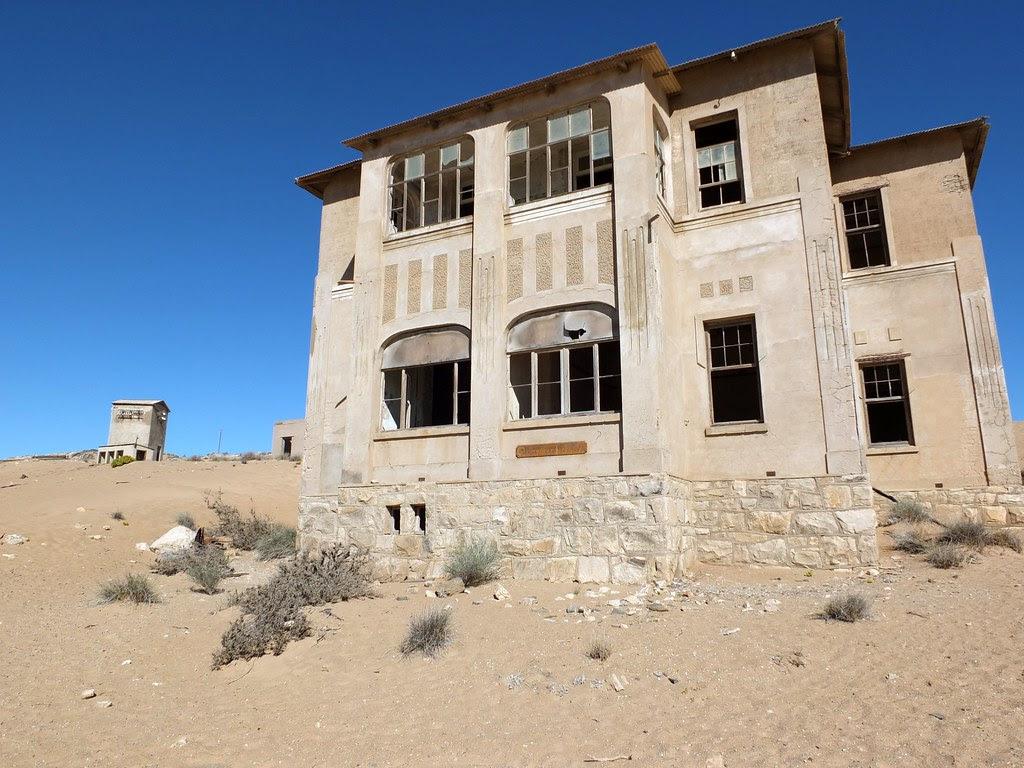Quartermaster in Kolmanskop
