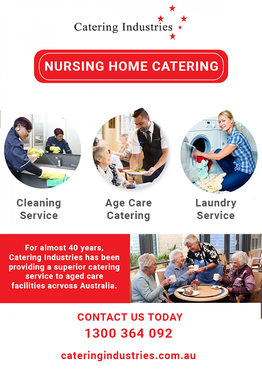 3 Ways of Nursing Home Catering Industries Sydney | Visual.ly
