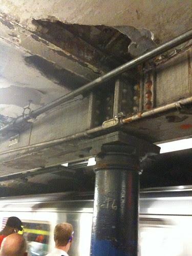 The crumbling NY subways