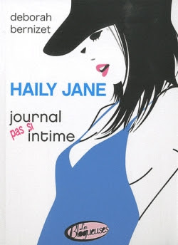 Couverture Haily Jane, journal pas si intime