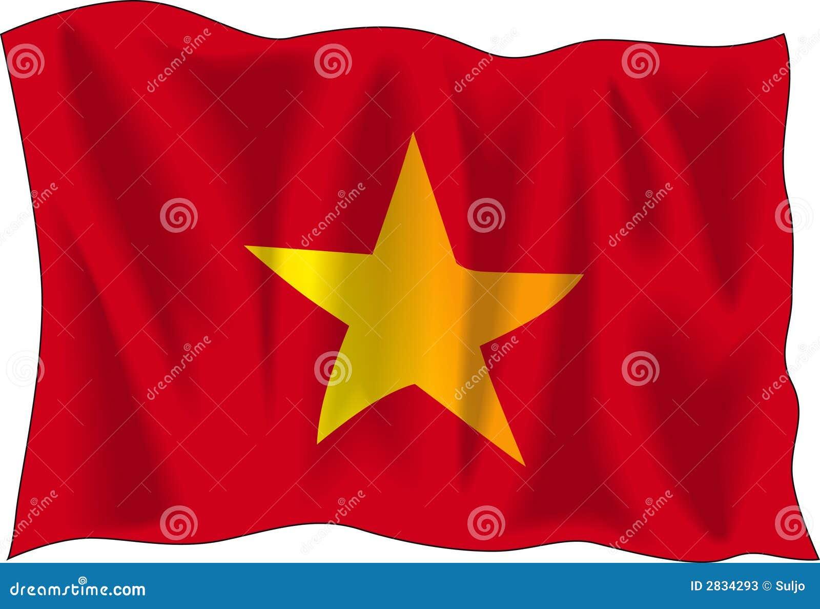 Vietnam Flag Stock Photos Image 2834293