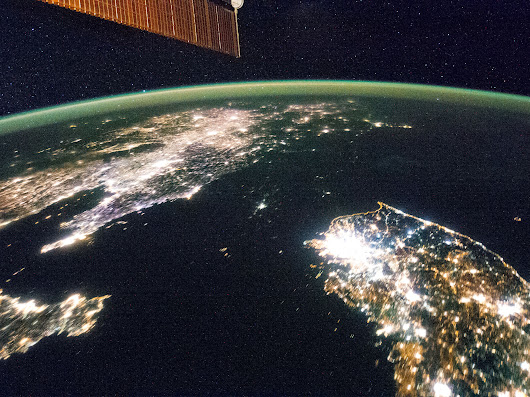 North Korea's Still In The Dark, As Photos From Space Show