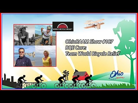 #187 Team World Bicycle Relief on The OhioRAAM Show