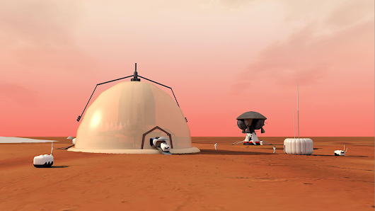 Future Mars colonies? Scientists sketch out research bases that could take root on the Red Planet