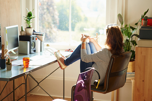 Working From Home: Expectation v. Reality - Ericka Andersen