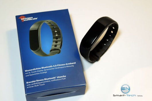 NewGen FBT55 HR SmartBand mit Puls - Smart Tech News