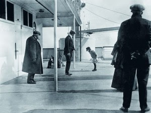 Foto Nyata di Atas Kapal Titanic