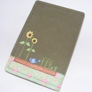 Gardening Notebook back