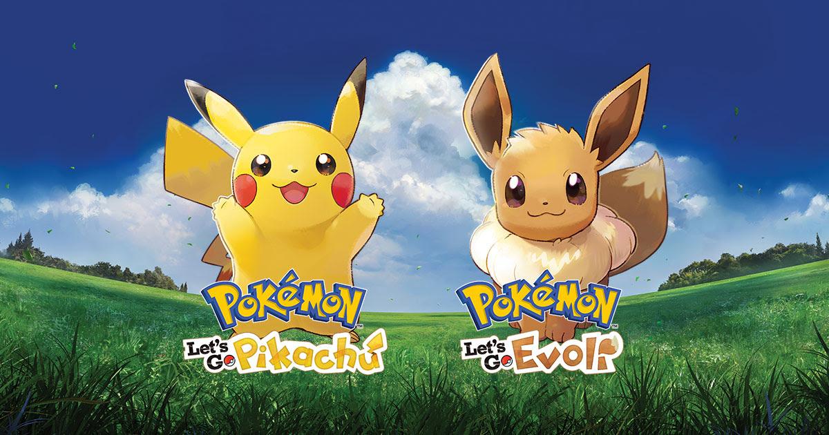 Pokémon Lets Go Pikachu Und Pokémon Lets Go Evoli Entdecke