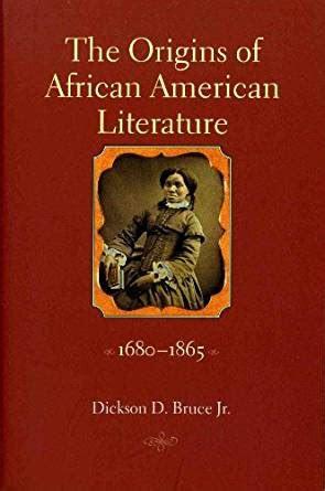 amazoncom  origins  african american literature
