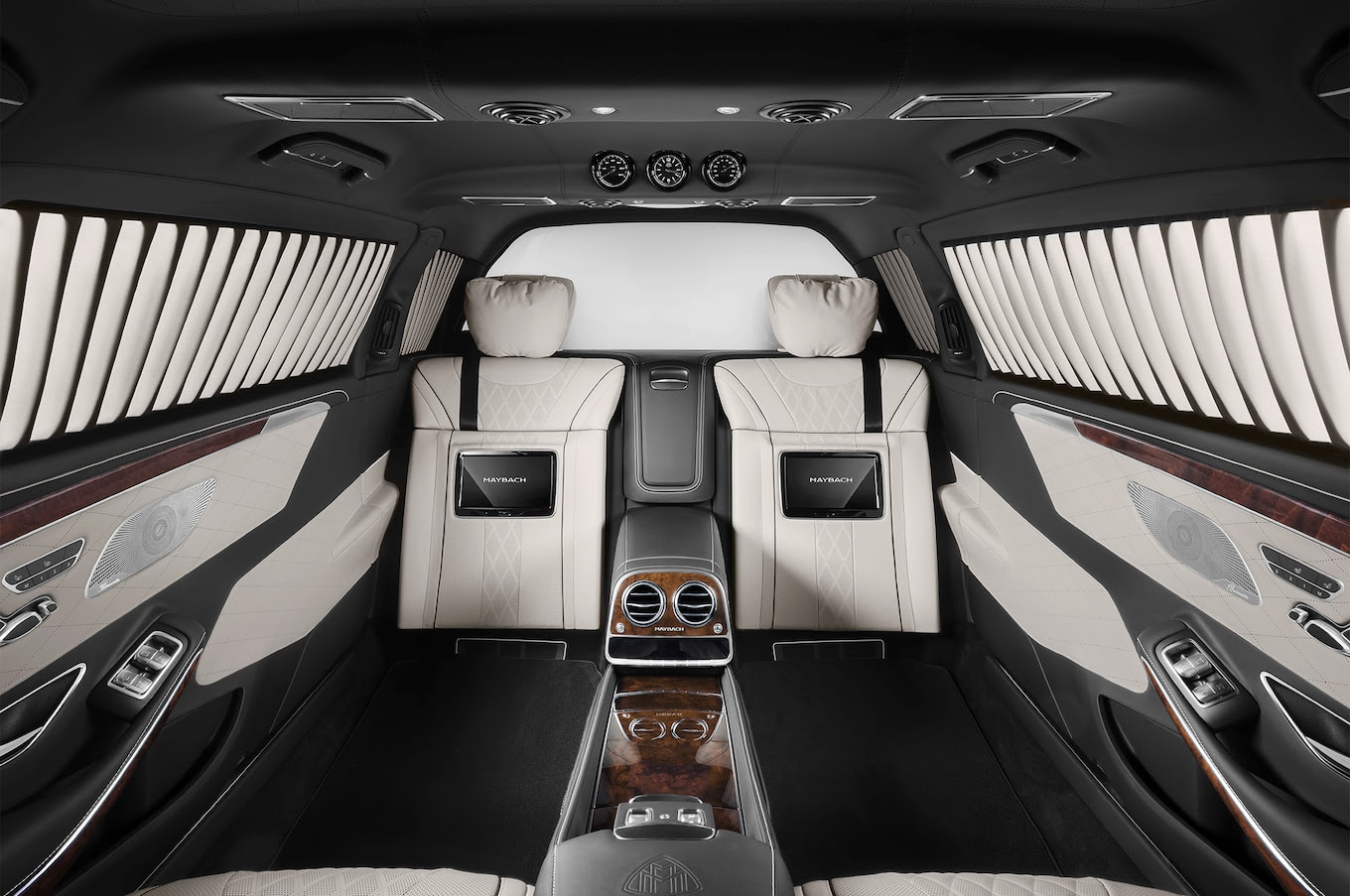 Mercedes-Maybach Pullman Guard is 12,000 Pounds of ...