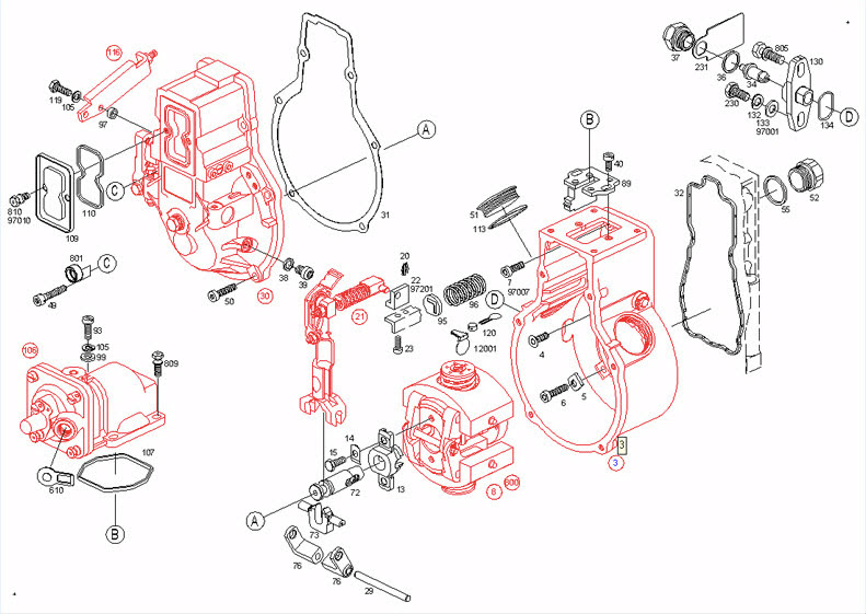 Cummins 83 Fuel Pump Diagram