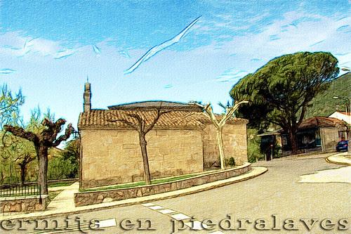 una ermita de piedralaves