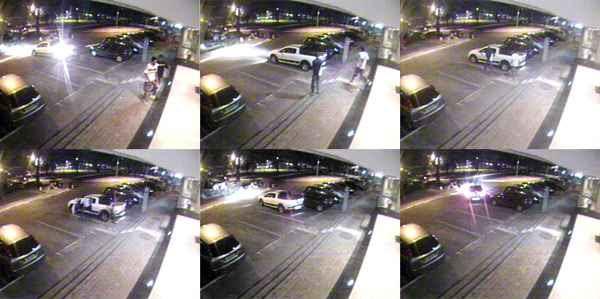 A jovem sequestrada há uma semana voltava para casa após ter saído para comprar um lanche (Reprodução de vídeo)