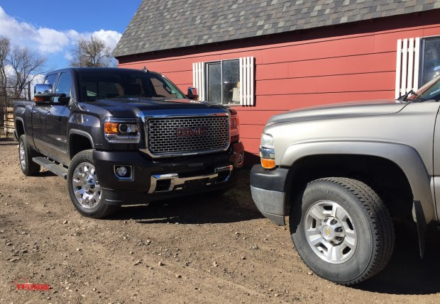 ... . New Diesels: 2016 GMC Sierra HD vs. 2002 Chevy Silverado HD [Video