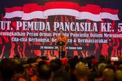 Beri Pujian, Jokowi Harap Pemuda Pancasila Jadi Benteng Pancasila