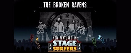 @teamrockgames adds music from The Broken Ravens to latest game after meeting at #xponorth 2016 http...