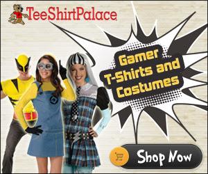 Gamer T-Shirts and Costumes at TeeShirtPalace.com!