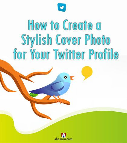 How to Create Stylish Header Photo for Your Twitter Profile (Tutorial)