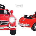 Mercedes Benz 300SL Kids Ride Car with RC